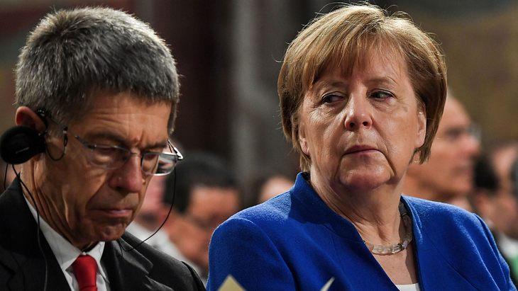 Angela Merkel musste ohne ihren Mann verreisen