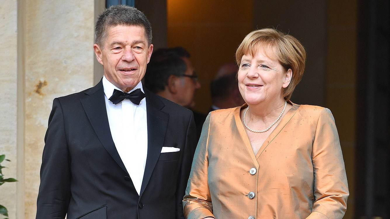 Angela Merkel und Mann Joachim Sauer