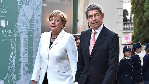 Trennung bei Angela Merkel und Mann Joachim Sauer - Foto: Imago/Sammy Minkoff