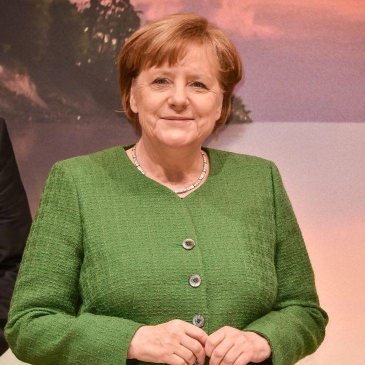 Angela Merkel wurde von ihren Liebsten unterstützt