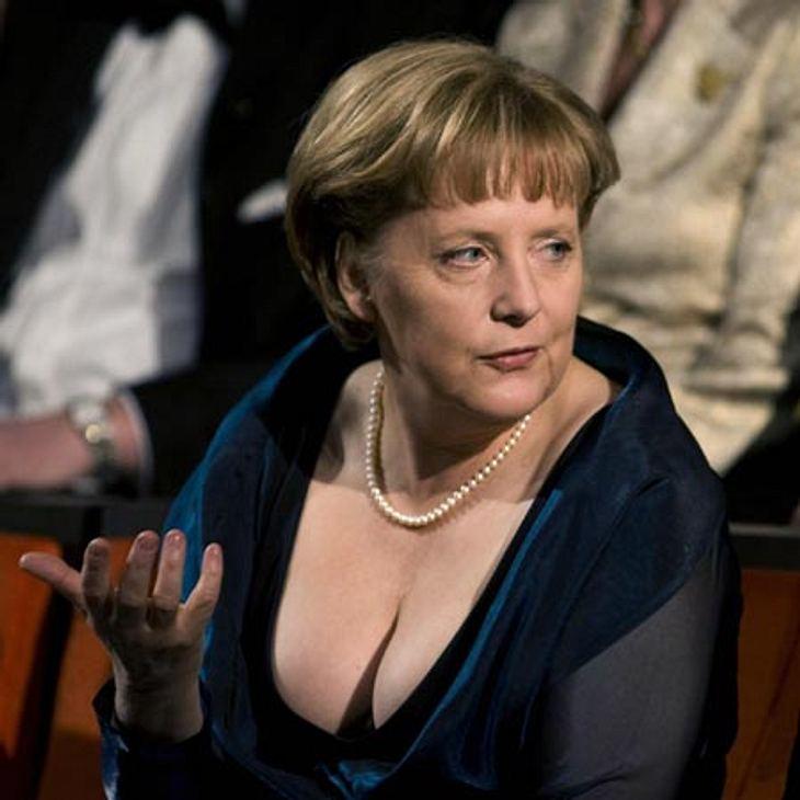 Wow! Angela Merkel als Blickfang in einer Oper in Oslo