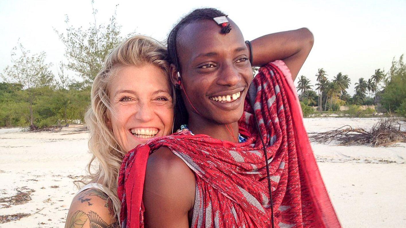 Angela Wolf und Paulo bei Goodbye Deutschland