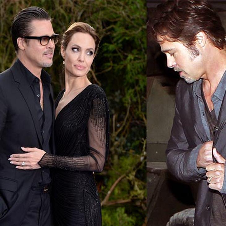 Brad Pitt mit Ehering
