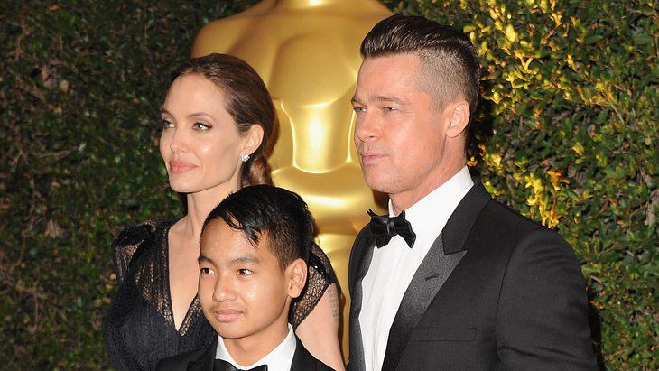 Angelina Jolie, Brad Pitt und Maddox