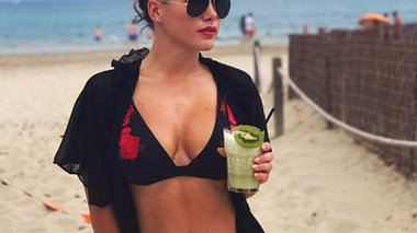 Angelina Heger ist in Topform - Foto: Facebook/Angelina Heger
