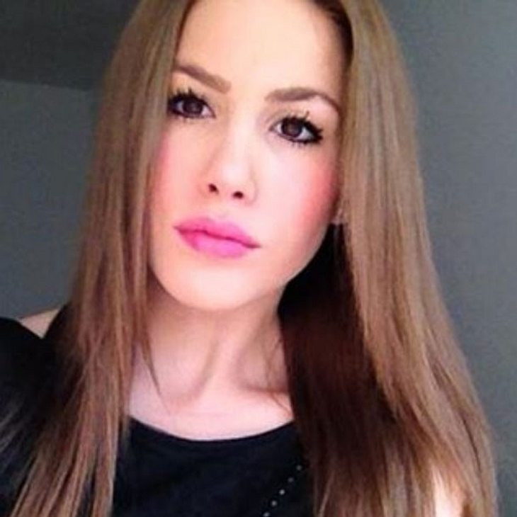 Angelina Heger Haarfarbe brünett