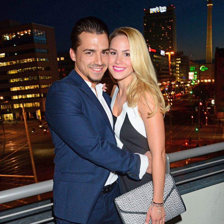 Angelina Heger und ihr Chrissi