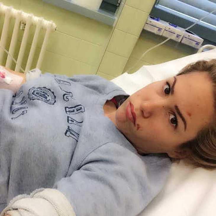 Angelina Heger liegt verletzt im Krankenhaus!