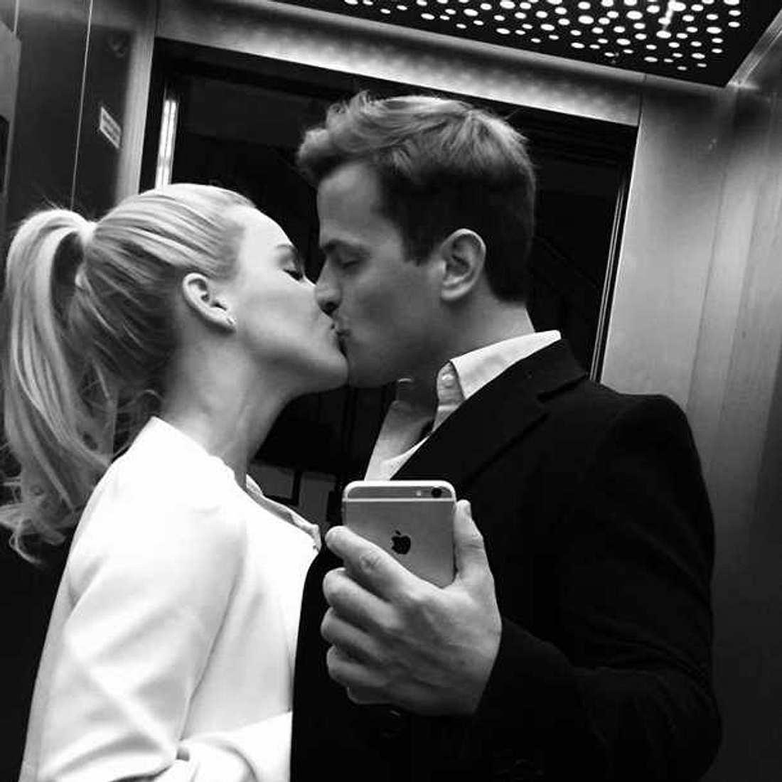 Angelina Heger Rocco Stark Kuss Selfie