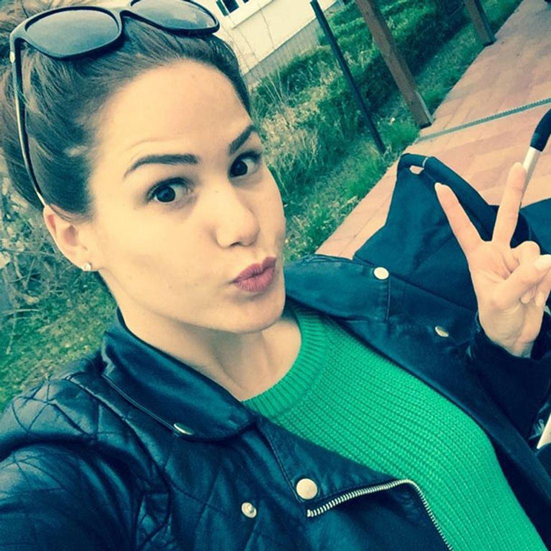 Angelina Heger: Peinliches Selfie!