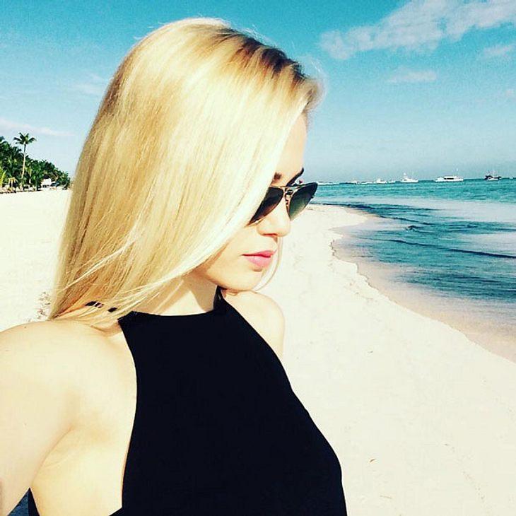 Angelina Heger Urlaub