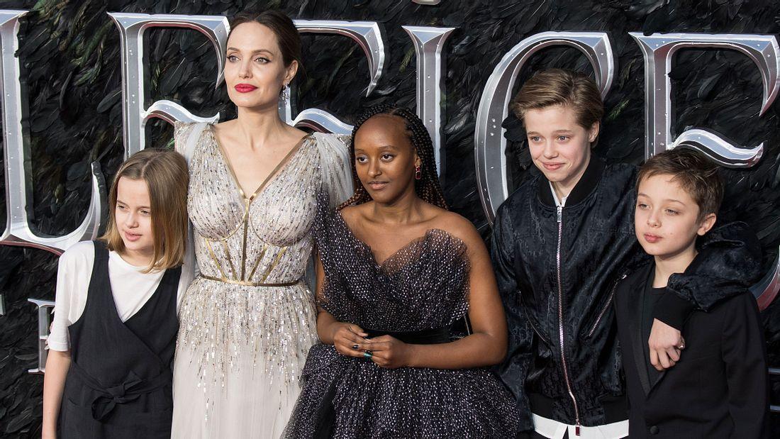 Angelina Jolie und ihre Kinder