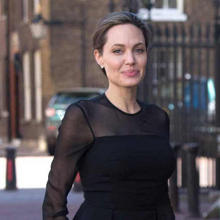 Angelina Jolie: Nach der Trennung von Brad Pitt völlig abgemagert!