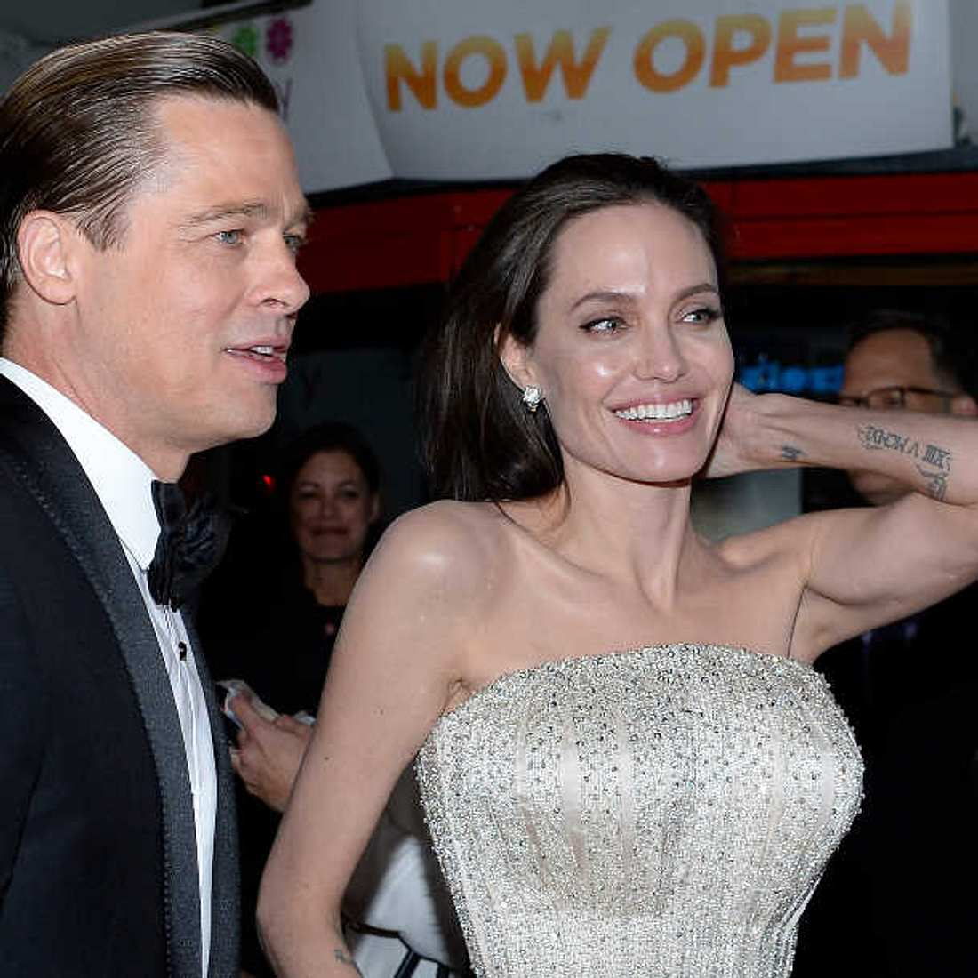 Angelina Jolie findet Film-Sex mit Brad Pitt nicht so gut!