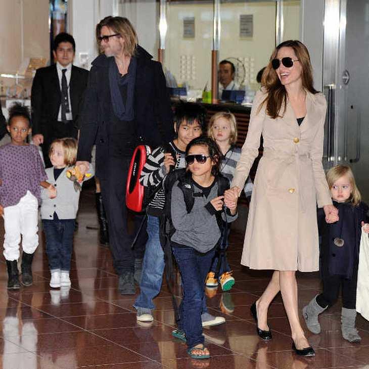 Angelina Jolie & Brad Pitt: Bizarre Erziehungsmethoden enthüllt!