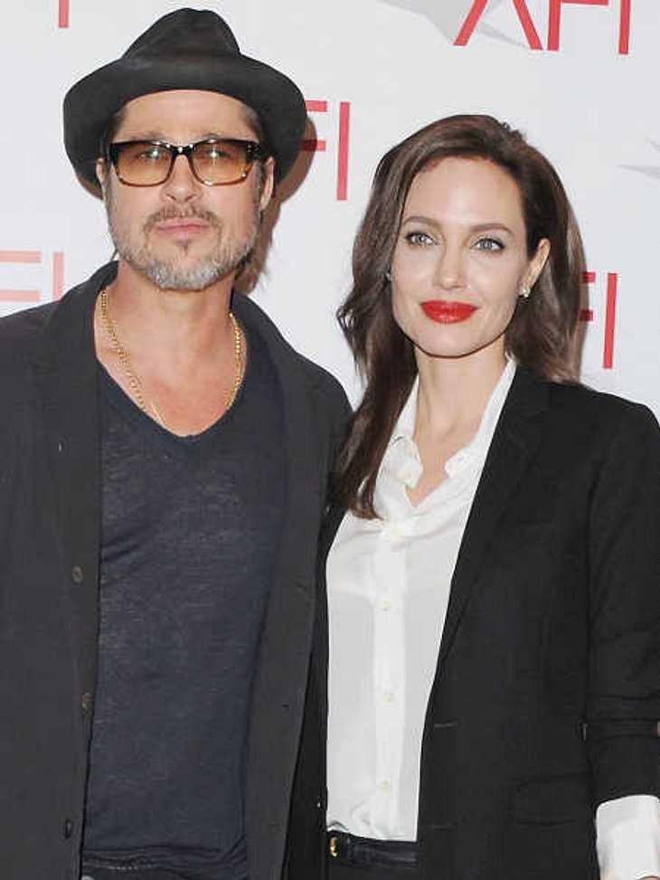 Angelina Jolie und Brad Pitt in der Ehekrise!