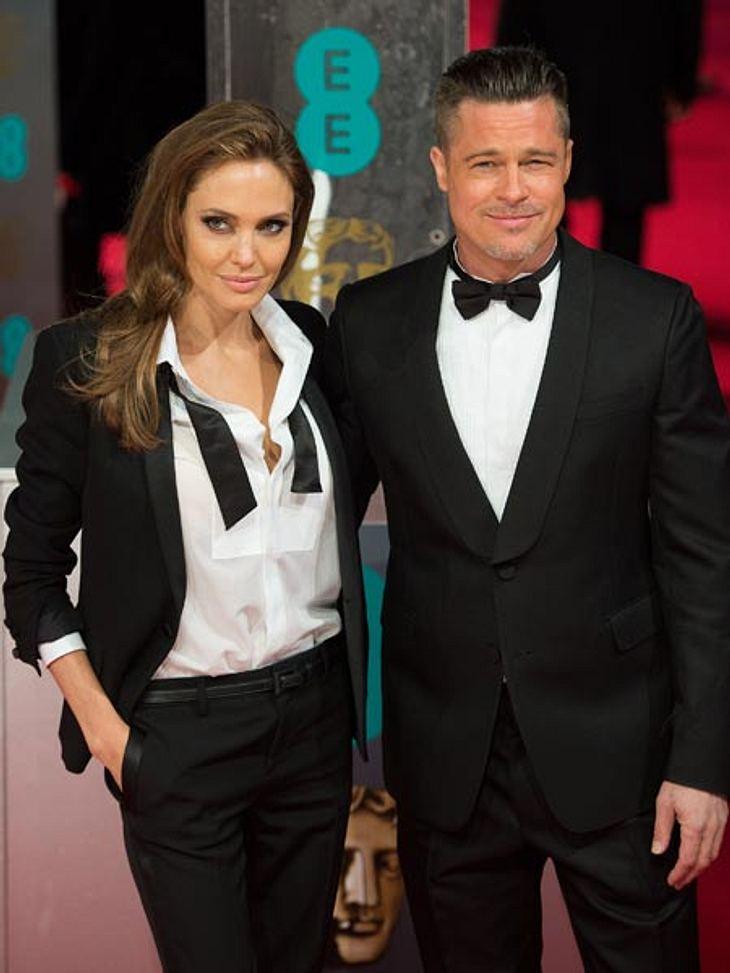 Angelina Jolie und Brad Pitt wollen sich Partner-Tattoos stechen lassen