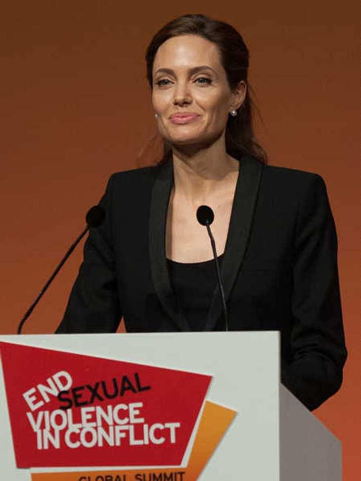 Angelina Jolie wurde für ihr soziales Engagement geehrt.