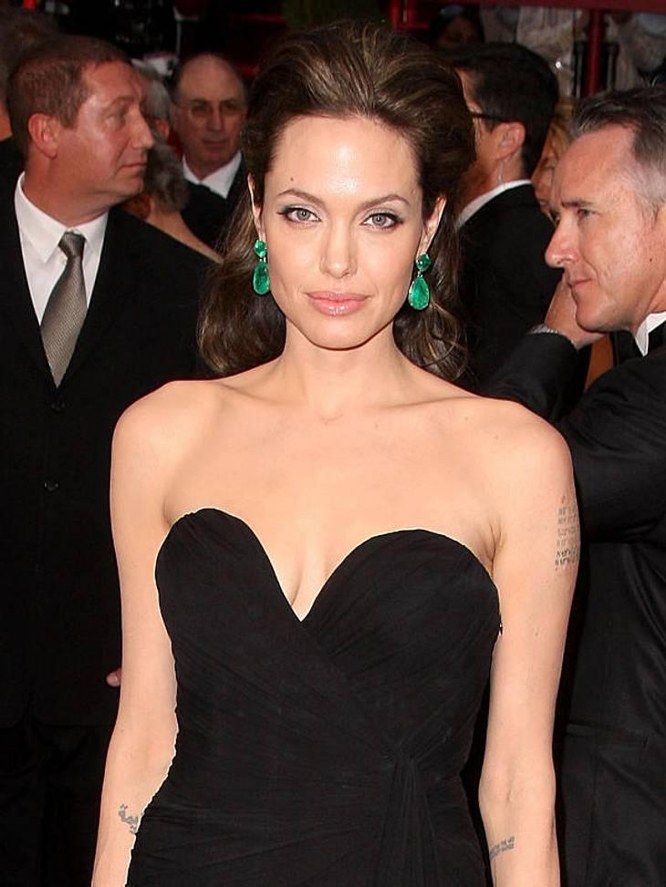Angelina Jolie verbietet ihren Kids die Musik von Rihanna