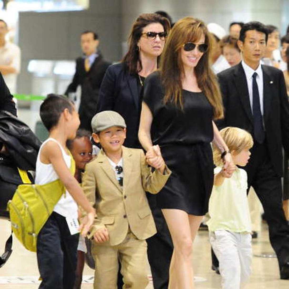 Angelina Jolie Kinder Sprachen