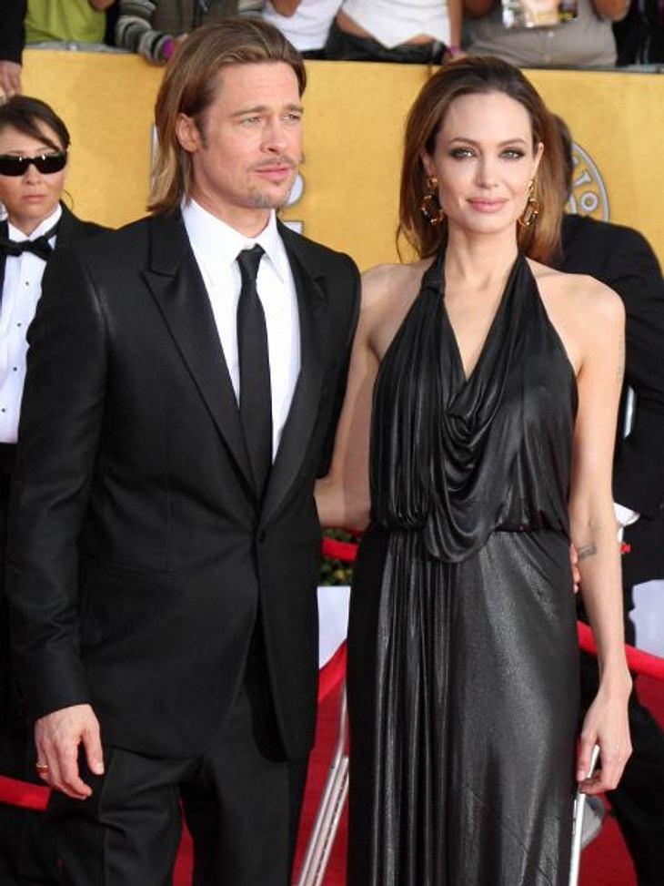 """Magere StarsFür Brad Pitt (48) teils eine unerträgliche Situation: """"Er wünscht sich, dass sie sich entspannt und ihr Leben endlich wieder genießen kann"""", weiß ein Freund. Deshalb hat er ihr vorgeschlagen, eine Kur in der """"Cli"""