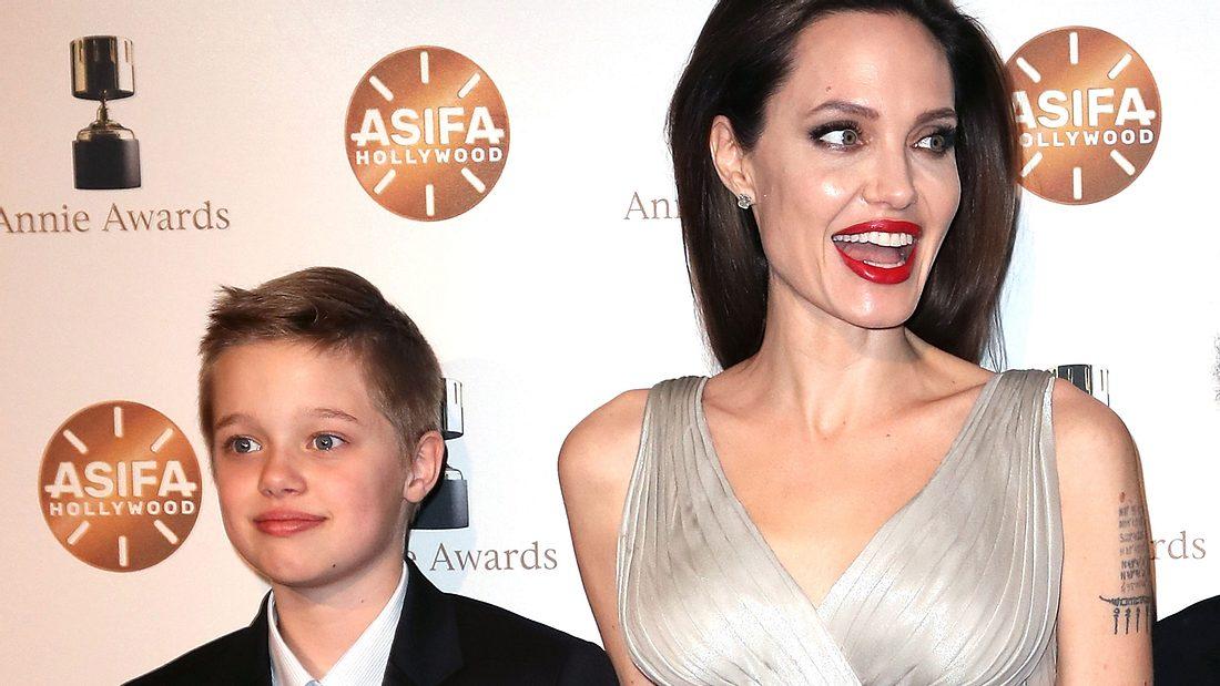 Angelina Jolie und Tochter Shiloh