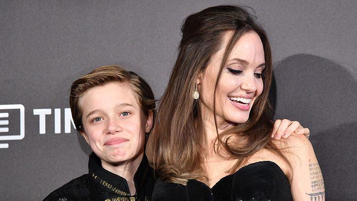Angelina Jolie und Shiloh