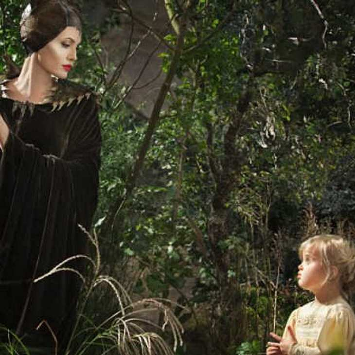 """Angelina Jolie und Vivienne Jolie-Pitt in """"Maleficent"""""""