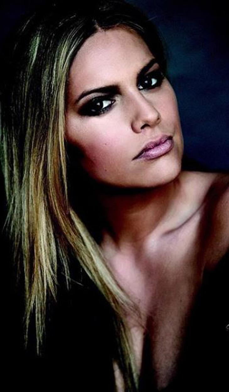 """Angelina Kirsch: """"Entweder Lippen oder Augen"""""""