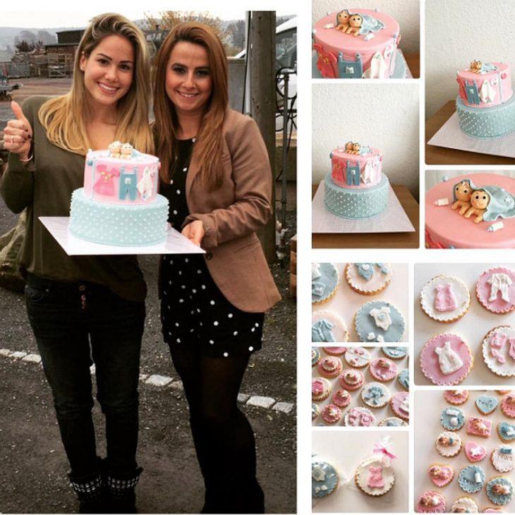 Angelina Heger hat für ihre Schwester eine Baby-Party geschmissen
