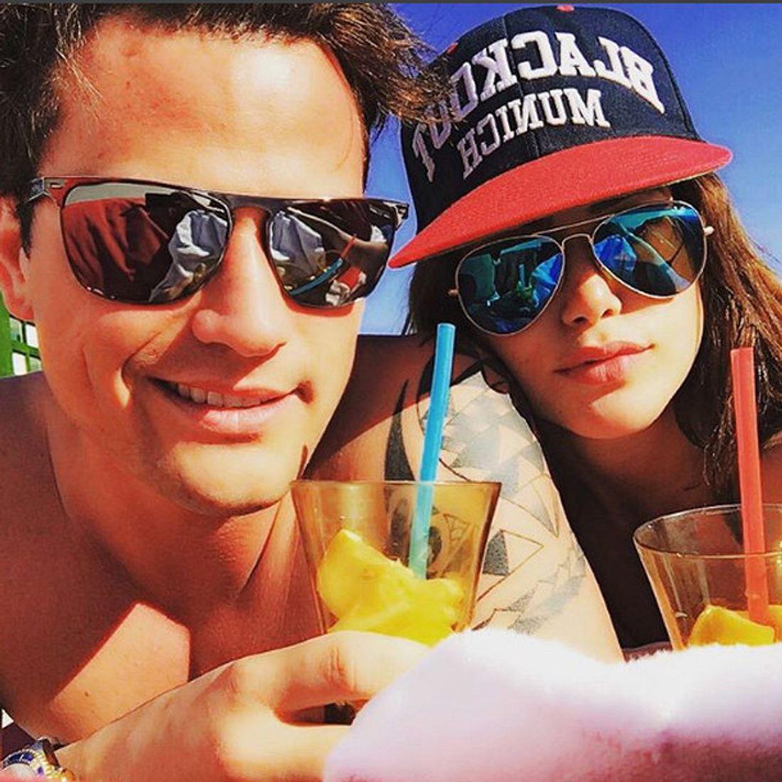 Angelina Heger und Rocco Stark verliebt in der Türkei