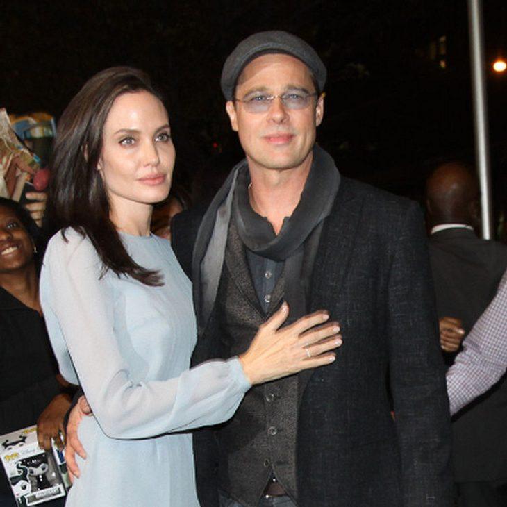 Angelina Jolie und Brad Pitt ziehen nach London