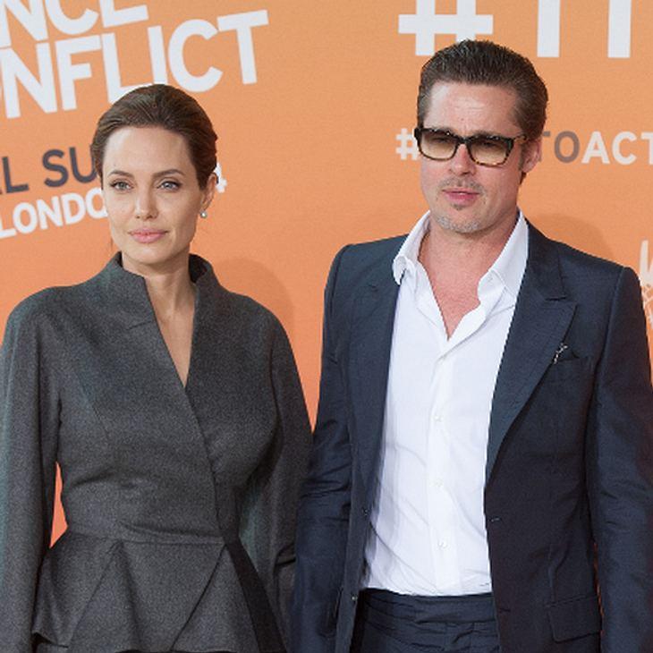 Hat Angelina Jolie wegen Brad Pitts Ausraster die Scheidung eingereicht?