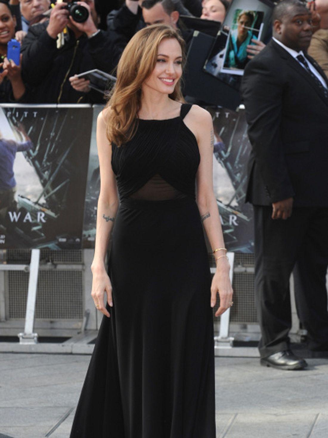 Angelina Jolie zeigte sich erstmals nach ihrer Brust-OP wieder in der Öffentlichkeit