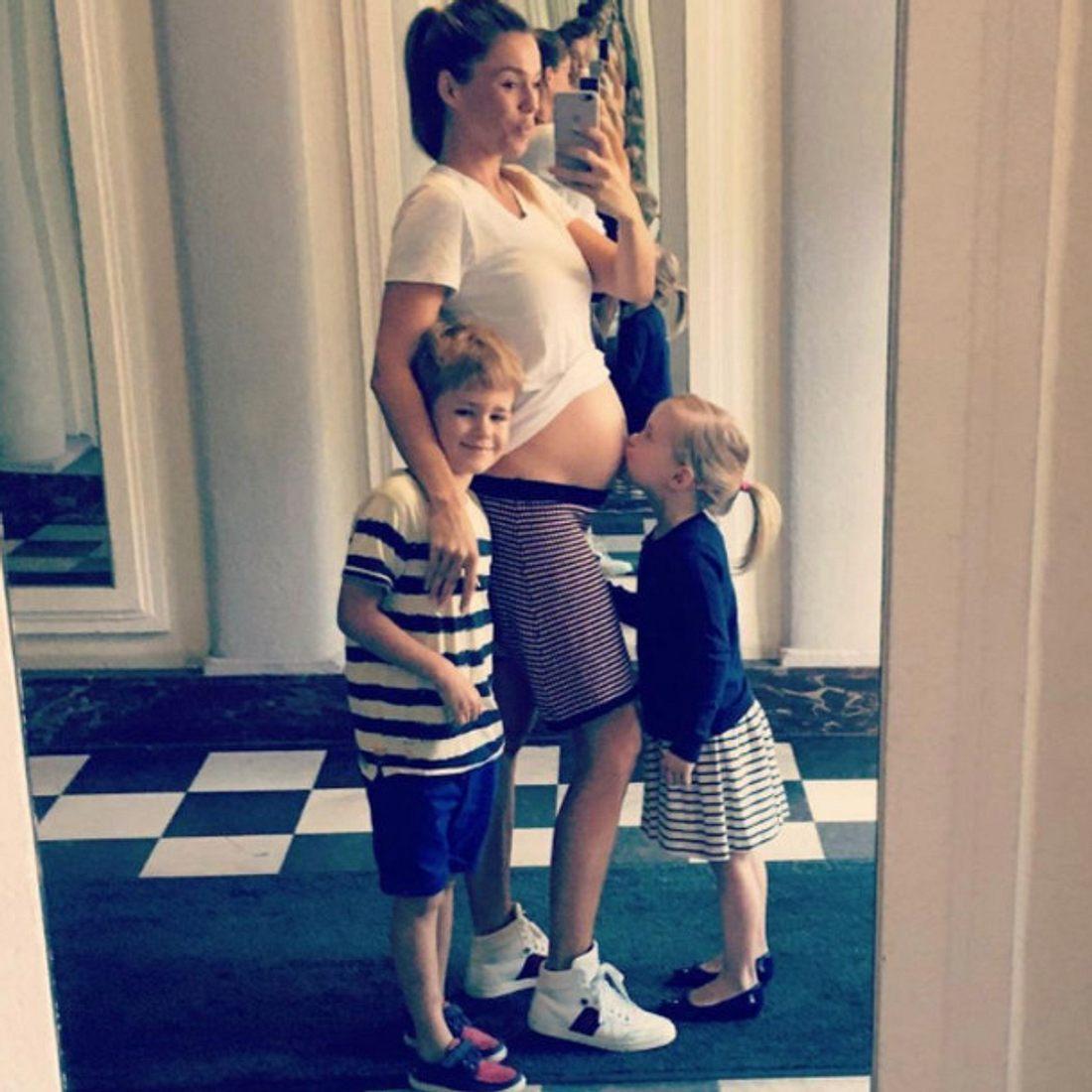 Angelina Posth freut sich schon auf ihr drittes Kind