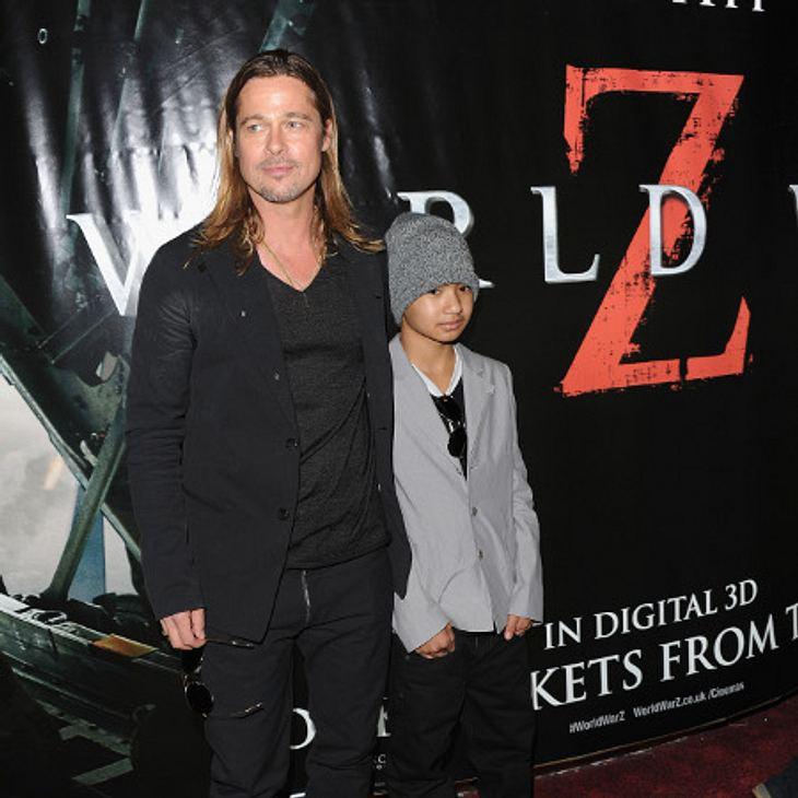 Brad Pitt und Angelina Jolie: Angst um ihren Sohn