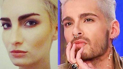 Anika Scheibe und Bill Kaulitz: Gesichtszwillinge