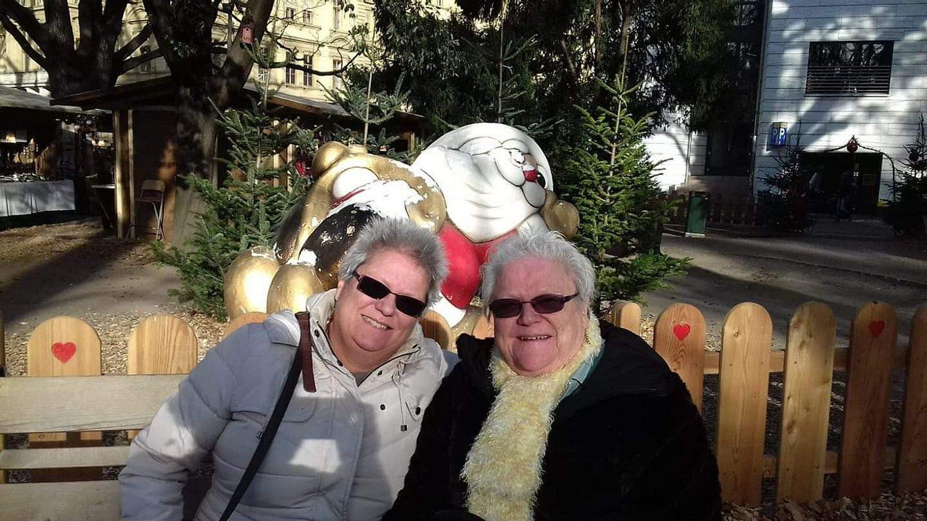 Anke Leithäuser und ihre Mutter Gisela