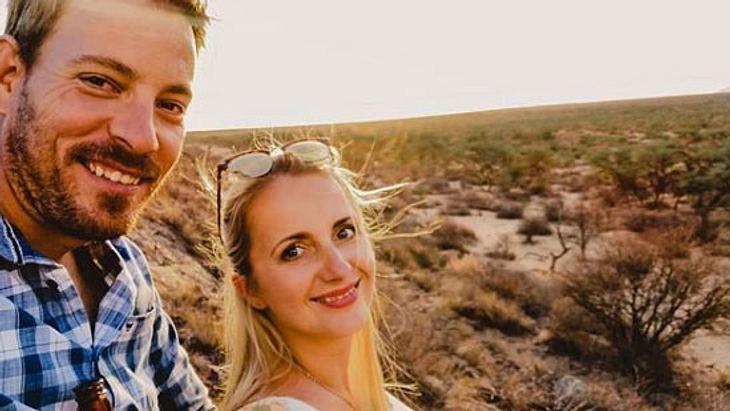 Farmer Gerald und Anna Heiser