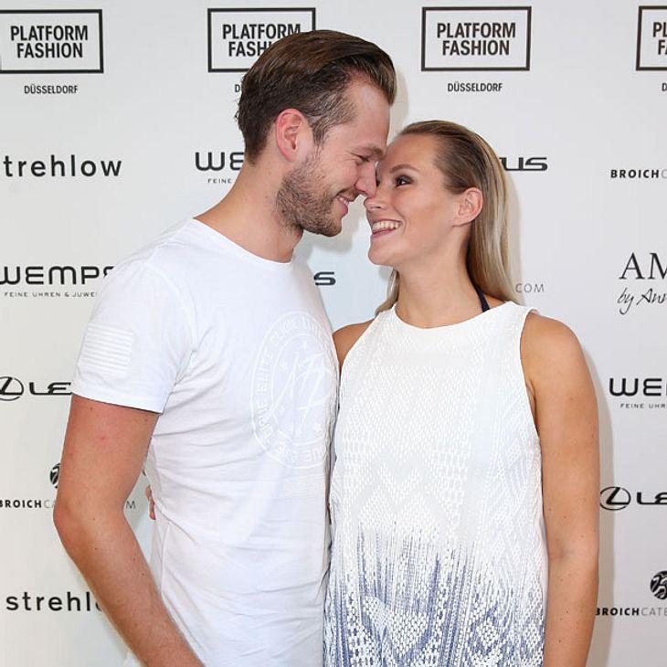 Anna Hofbauer und Marvin Albrecht: Baby-Outing