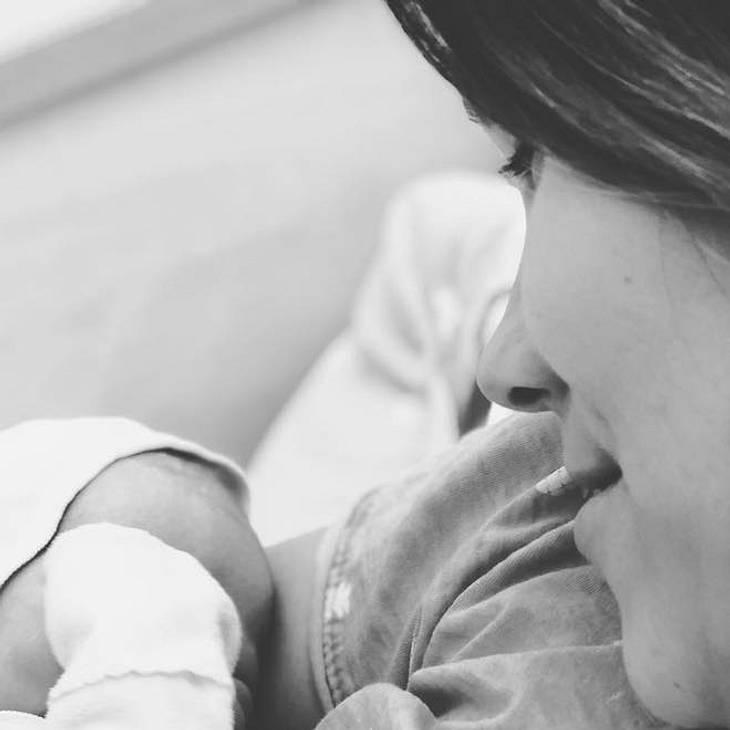 Anna-Maria Zimmermann: Das Baby ist da!