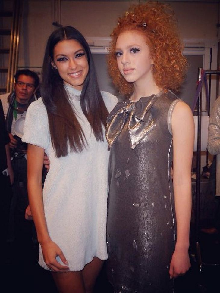 Ab jetzt Model Kolleginnen: Rebecca Mir und Anna Ermakova