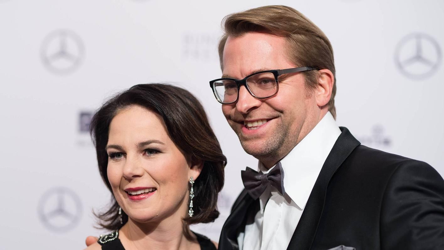 Annalena Baerbock und Mann Daniel Holefleisch