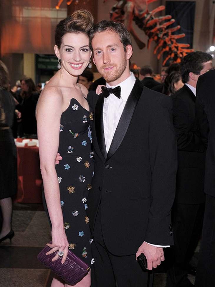 Anne Hathaway und Adam Shulman haben heimlich geheiratet.