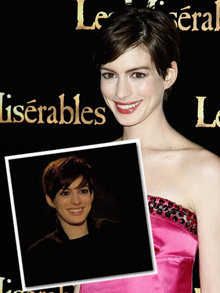 Anne Hathaway im Interview.