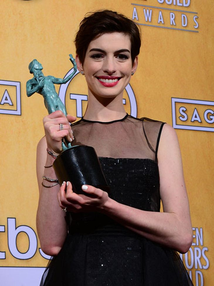 Anne Hathaway räumte bei den Screen Actors Guild Awards 2013 ab