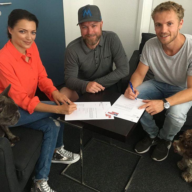 GZSZ: Anne Menden und Niklas Osterloh haben ihren Vertrag verlängert!
