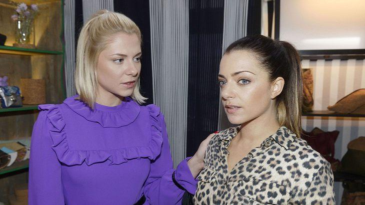 Anne Menden und Valentina Pahde