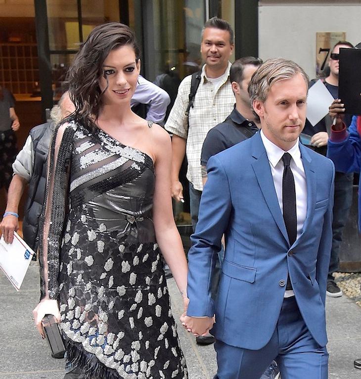 Anne Hathaway & Adam Suhlman: Erstes Baby unterwegs