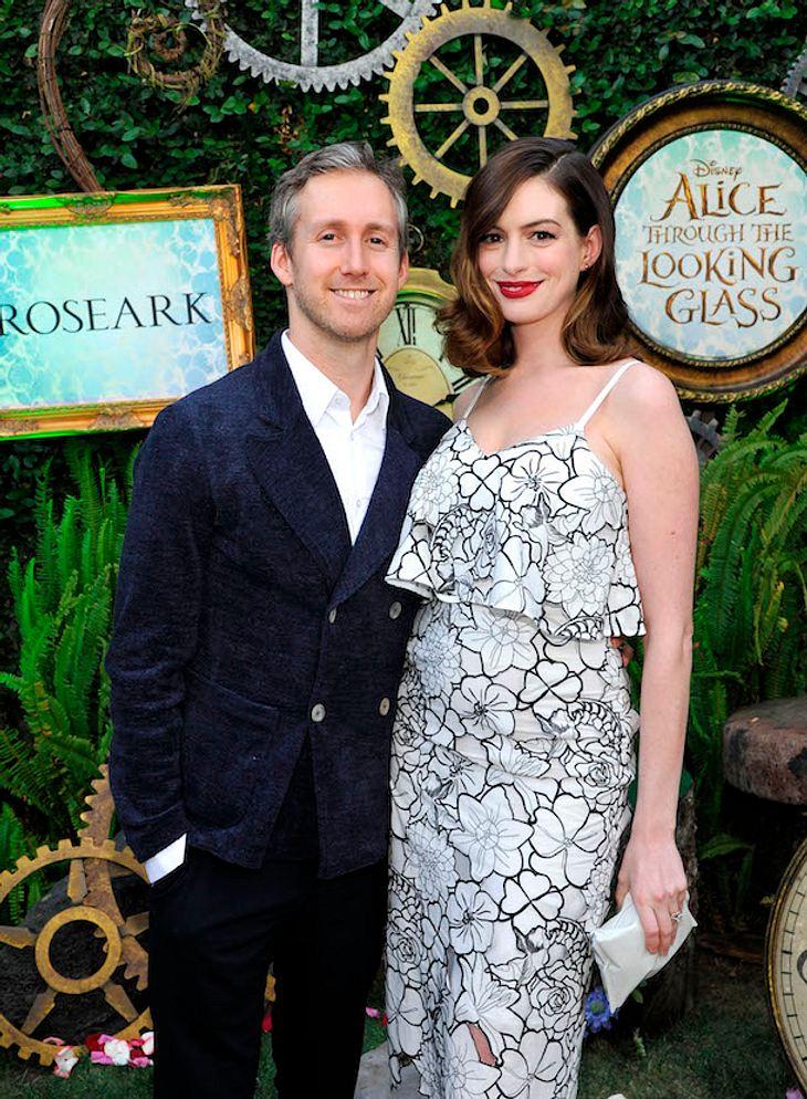 Nach der Geburt: Anne Hathaway rank und schlank auf dem Red Carpet